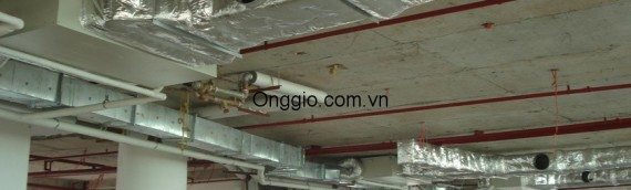 Lợi ích của việc sử dụng hệ thống ống gió trong tòa nhà.